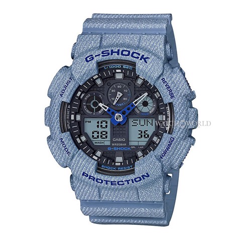 CASIO G-Shock GA-100DE-2ADR 55mm - Mens Watch