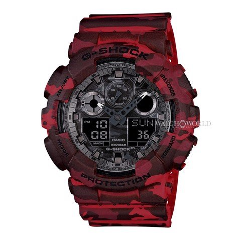 CASIO G-SHOCK GA-100CM-4ADR 55mm - Mens Watch