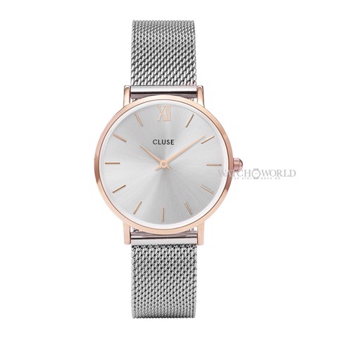 CLUSE Minuit Mesh 33mm - Ladies Watch