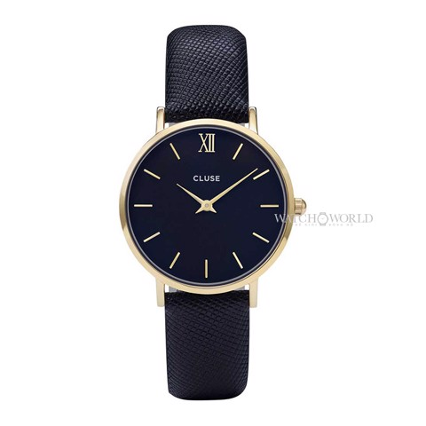 CLUSE Minuit Midnight 33mm - Ladies Watch