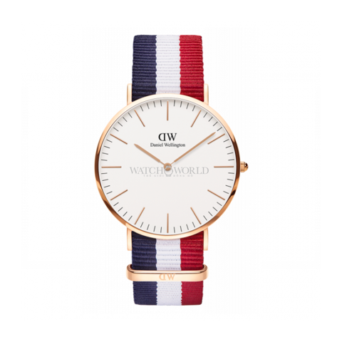 DANIEL WELLINGTON Classic Cambridge DW00100003 40mm - Mens Watch