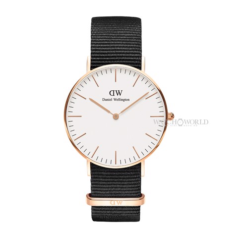 DANIEL WELLINGTON - Classic Cornwall 36mm Rose Gold - Ladies Watch