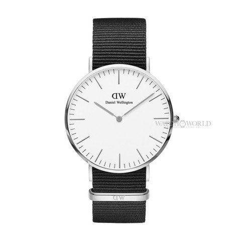 DANIEL WELLINGTON - Classic Cornwall 36mm Silver - Ladies Watch