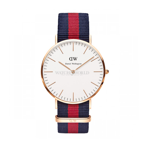 DANIEL WELLINGTON Classic Oxford DW00100001 40mm - Mens Watch