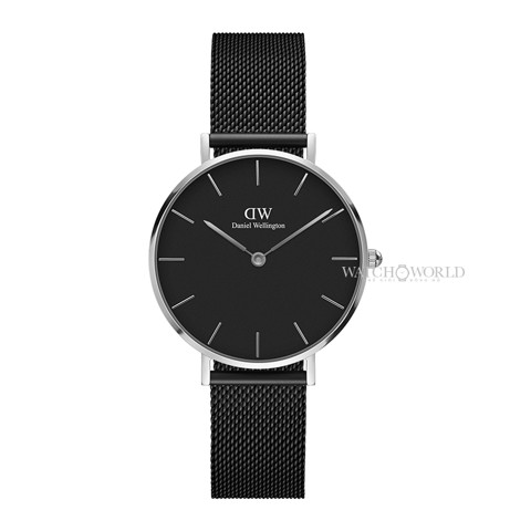 DANIEL WELLINGTON - Classic Petite Ashfield 32mm Silver - Ladies Watch