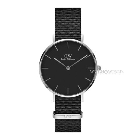DANIEL WELLINGTON - Classic Petite Cornwall 32mm Silver - Ladies Watch