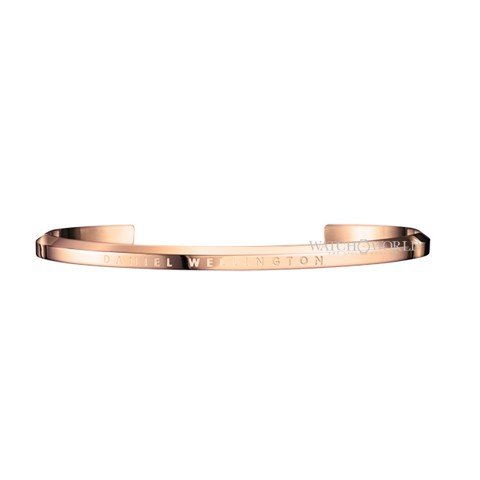 DANIEL WELLINGTON - CUFF Stainless Steel Rose Gold Size Large (DW00400001)