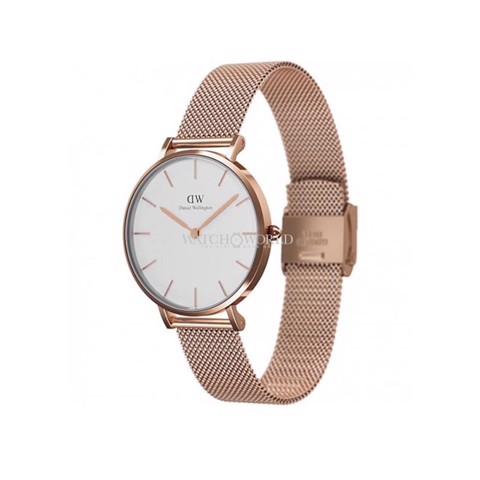DANIEL WELLINGTON - Classic Petite 32mm Rose Gold Melrose White - Ladies Watch
