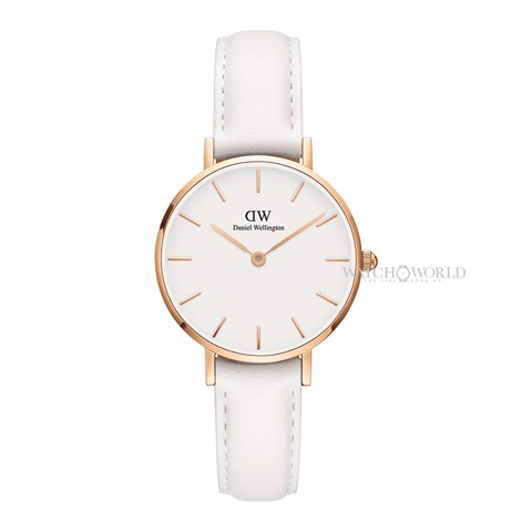 DANIEL WELLINGTON - Petite BONDI White 28mm Rose Gold - Ladies Watch