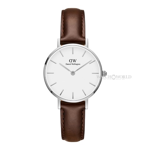 DANIEL WELLINGTON - Petite BRISTOL White 28mm Silver - Ladies Watch