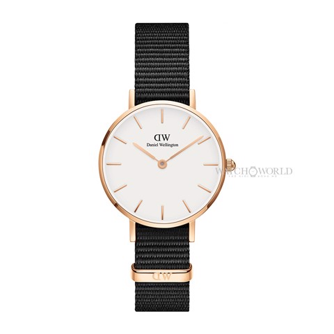 DANIEL WELLINGTON - Petite CORNWALL White 28mm Rose Gold - Ladies Watch