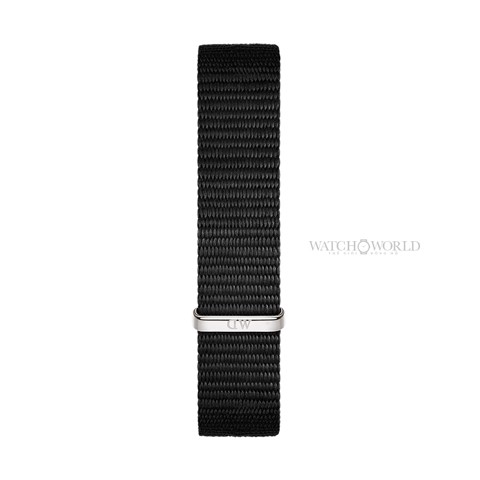 DANIEL WELLINGTON - Petite CORNWALL Black DW00100248 28mm Silver - Ladies Watch