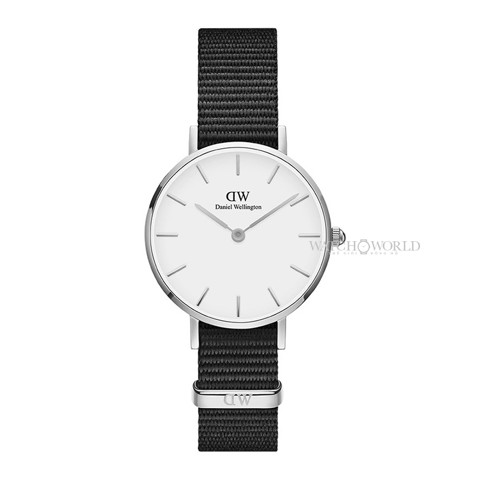 DANIEL WELLINGTON - Petite CORNWALL White 28mm Silver - Ladies Watch