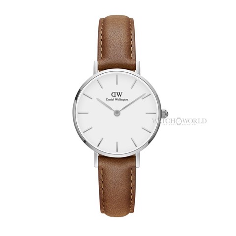 DANIEL WELLINGTON - Petite DURHAM White 28mm Silver - Ladies Watch