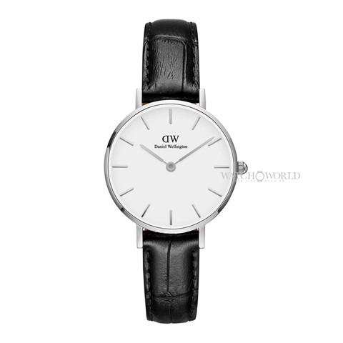 DANIEL WELLINGTON - Petite READING White 28mm Silver - Ladies Watch