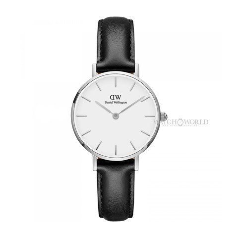 DANIEL WELLINGTON - Petite SHEFFIELD White DW00100242 28mm Silver - Ladies Watch