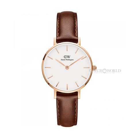 DANIEL WELLINGTON - Petite ST MAWES White 28mm Rose Gold - Ladies Watch