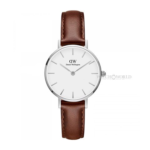 DANIEL WELLINGTON - Petite ST MAWES White 28mm Silver - Ladies Watch
