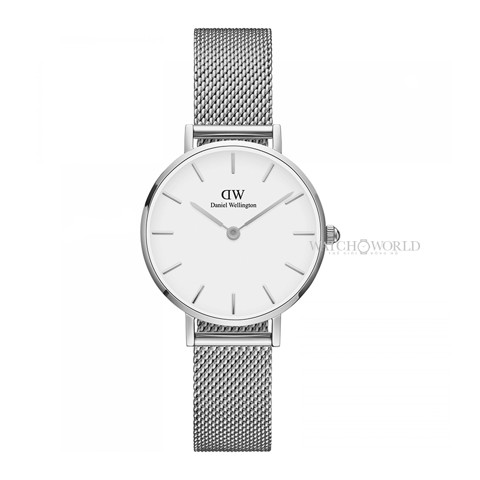 DANIEL WELLINGTON - Petite STERLING White 28mm Silver - Ladies Watch