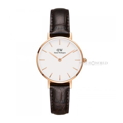 DANIEL WELLINGTON - Petite YORK White 28mm Rose Gold - Ladies Watch