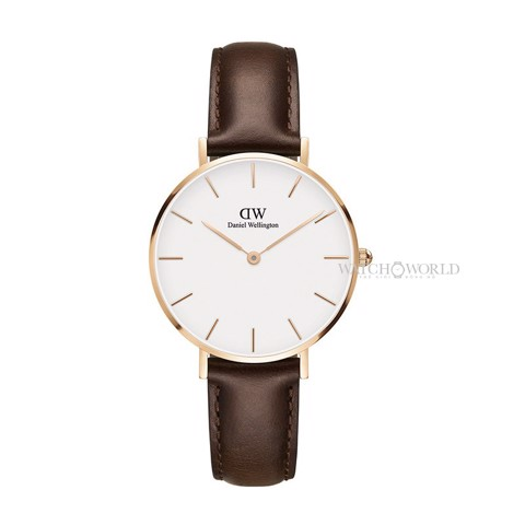 DANIEL WELLINGTON - Petite BRISTOL White 32mm Rose Gold - Ladies Watch