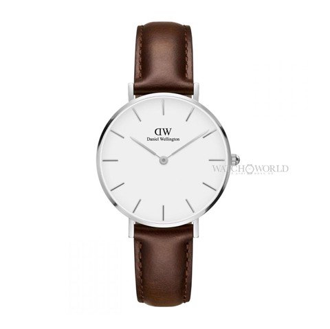 DANIEL WELLINGTON - Petite BRISTOL White 32mm Silver - Ladies Watch