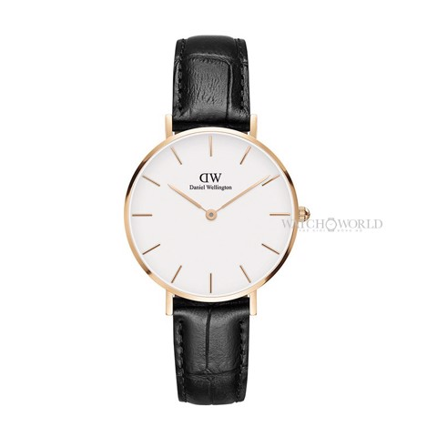 DANIEL WELLINGTON - Petite READING White 32mm Rose Gold - Ladies Watch