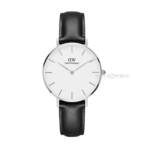 DANIEL WELLINGTON - Petite SHEFFIELD White 32mm Silver - Ladies Watch