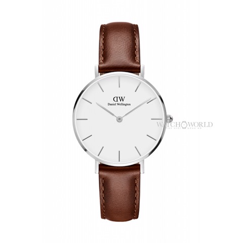 DANIEL WELLINGTON - Petite ST MAWES White 32mm Silver - Ladies Watch