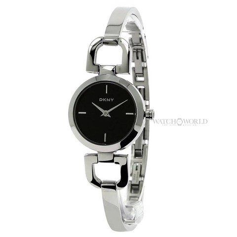 DKNY Black Dial 24 mm - Ladies Watch