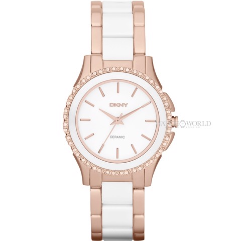 DKNY White Dial 32 mm - Ladies Watch