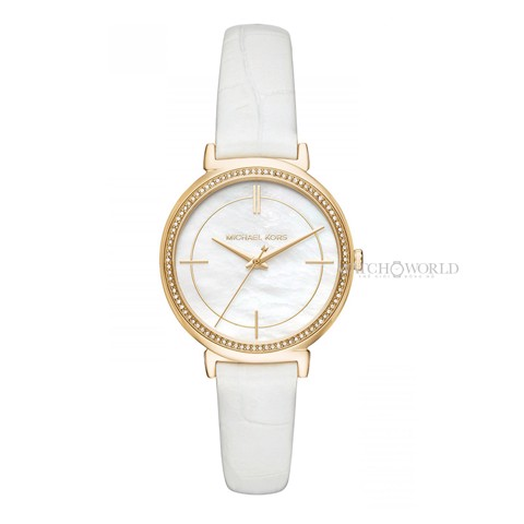 Michael Kors Cinthia White 33mm - Ladies Watch