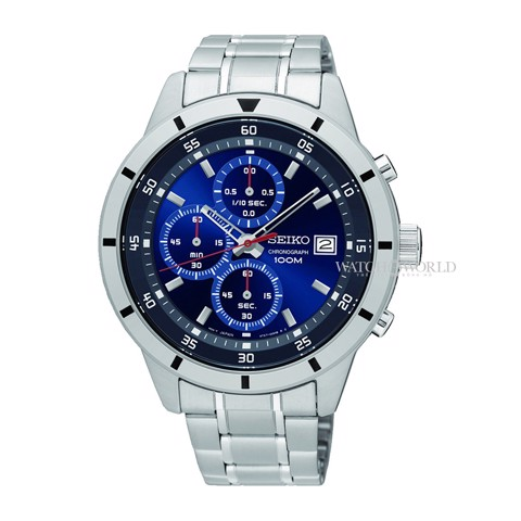 SEIKO Chronograph 43mm - Mens Watch
