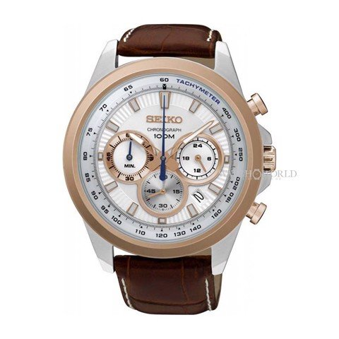 SEIKO Chronograph 45mm - Mens Watch