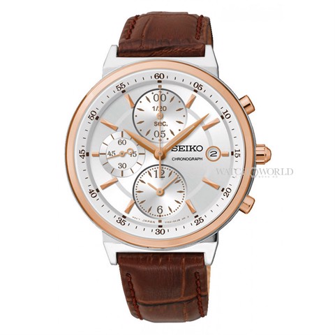 SEIKO Chronograph 37mm - Ladies Watch