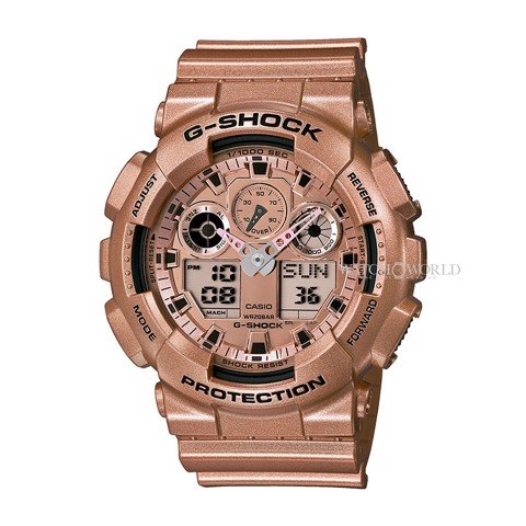 CASIO G-SHOCK GA-100GD-9ADR 55mm - Mens Watch