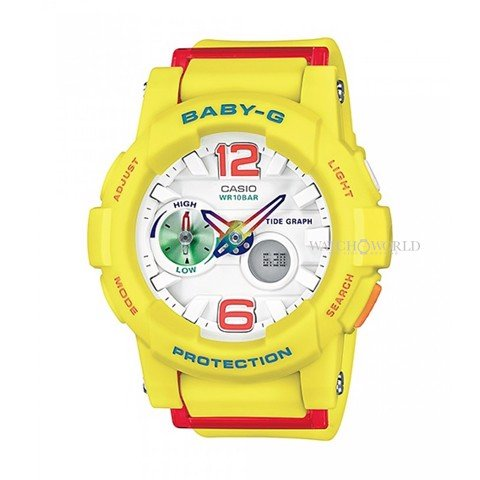 CASIO Baby-G BGA-180-9BDR 49mm - Ladies Watch