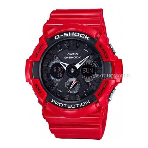 CASIO G-SHOCK GA-201RD-4ADR 50mm - Mens Watch