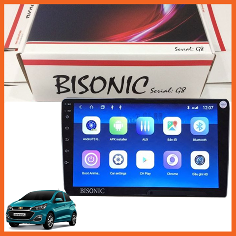 DVD Android BISONIC cho dòng xe Chevrolet
