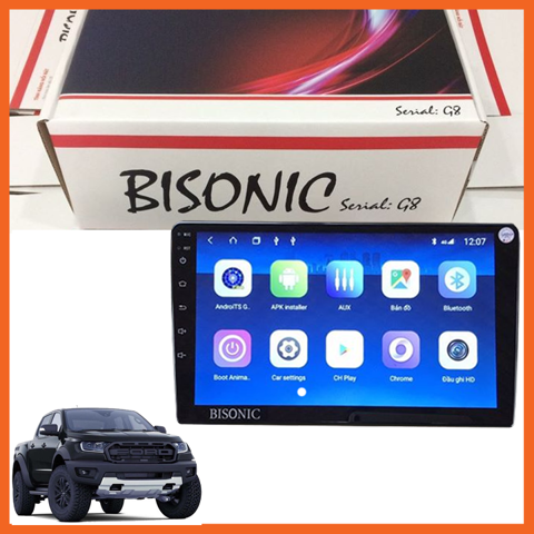 DVD Android BISONIC cho dòng xe Ford