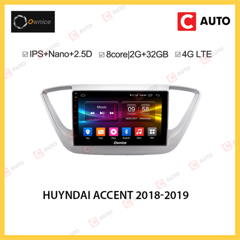DVD Android Owince Huyndai Accent 2018-2019 Chạy Android Mạnh Mẽ Nhất