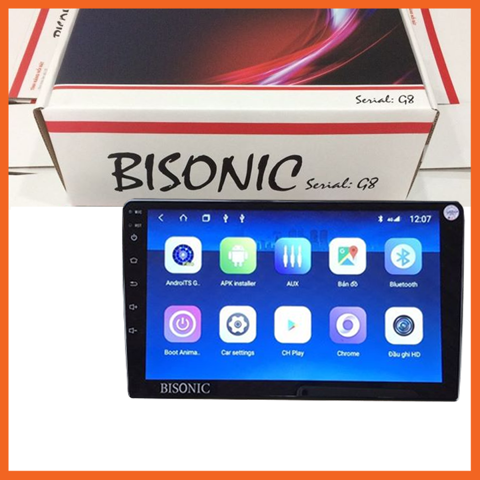 DVD Android BISONIC cho dòng xe Vinfast