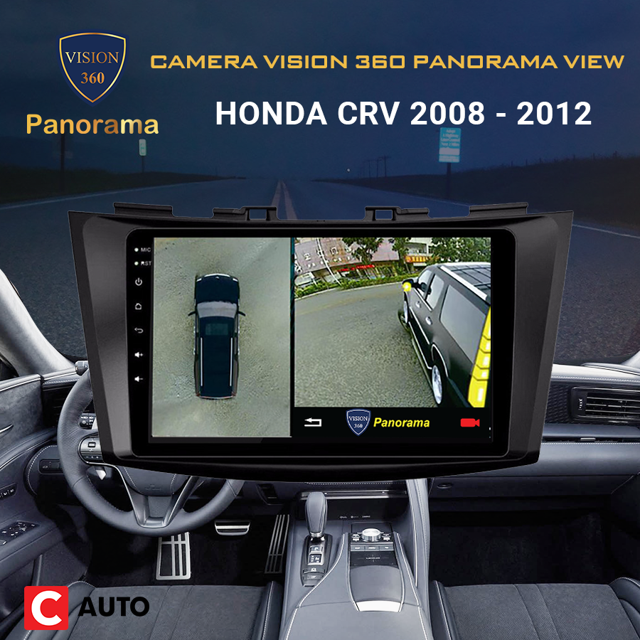 Camera vision360 panorama view Cho Honda Crv 2008-2012