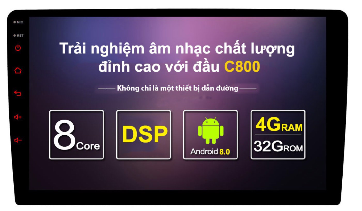 DVD Android Owince C800 - Dvd Android Cao Cấp Nhất Hiện Nay