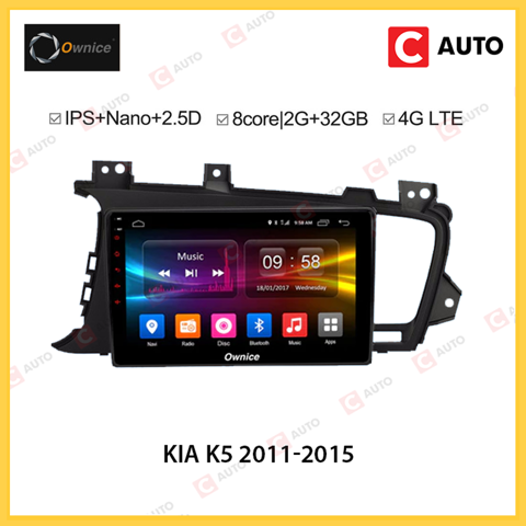 DVD Android Owince Kia K5 2011-2015 Hệ Thống Âm Thanh Cao Cấp