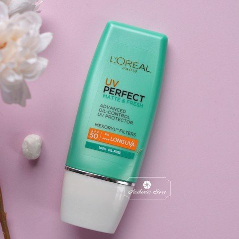 Kem Chống Nắng L'oreal UV Perfect Matte & Fresh advanced oil control UV Protector SPF50+ PA++++ 30ml