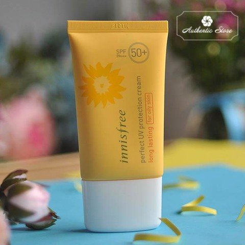 Kem Chống Nắng Innisfree Eco Safety Perfect long lasting for oily skin SPF 50