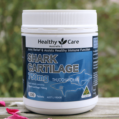 Sụn vi cá mập Healthy Care Shark Cartilage 750mg