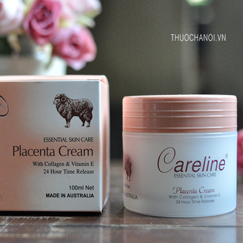 Kem dưỡng da nhau thai cừu Careline Placenta with collagen & Vitamin E Cream