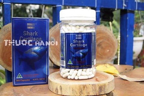 Sụn vi cá mập Costar Blue Shark Cartilage 750mg